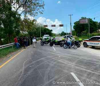Dos muertos dejan accidentes de tránsito ocurridos en Turbaco y Mahates - El Universal - Colombia