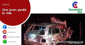 Fatal accidente en la vía Urrao - Betulia - ConexionSur