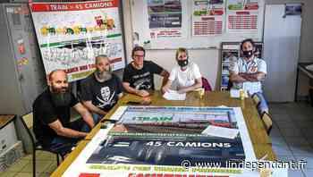 Pyrénées-Orientales : pour les cheminots, le train primeur Perpignan-Rungis doit redémarrer maintenant - L'Indépendant