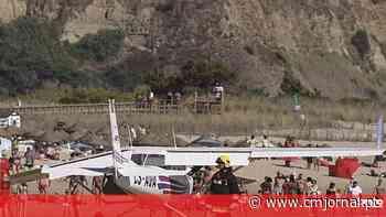 Piloto instrutor responsável por aterragem de emergência de aeronave em Almada vai ser julgado - Correio da Manhã