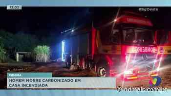 Videira: homem morre carbonizado em casa incendiada - ND Mais