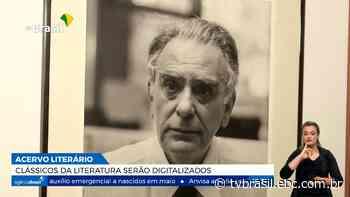 Universidade de Batatais digitaliza originais da literatura brasileira | Repórter Brasil | TV Brasil | Notícias - TV Brasil