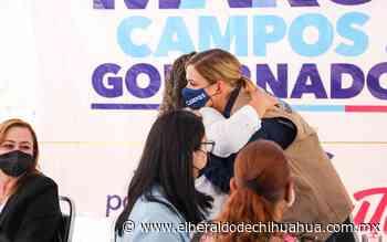 Invita Maru a mujeres a soñar con un Nuevo Casas Grandes seguro - El Heraldo de Chihuahua