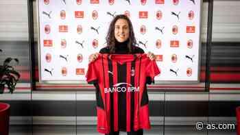 Vero Boquete renueva con el Milan por una temporada más - AS