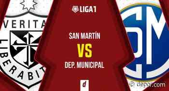 U. San Martín vs. Municipal EN VIVO: partido y transmisión por fecha 9 de la Liga 1 - Diario Depor