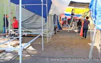 Pandemia golpea ventas en el tianguis de La Purísima - El Sol del Centro