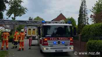 Feuerwehr birgt in Werlte Frau mit Drehleiter aus Haus - noz.de - Neue Osnabrücker Zeitung