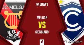 Vía GOLPERU: Melgar vs. Cienciano por la novena jornada de la Liga 1 - Diario Depor