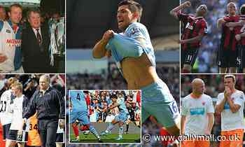 Sportsmail relives the most dramatic final days in Premier League history