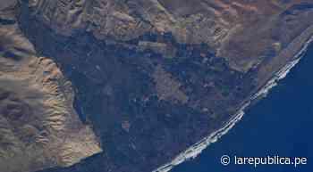 Arequipa: astronauta de la Nasa toma imagen de Camaná desde el espacio - LaRepública.pe