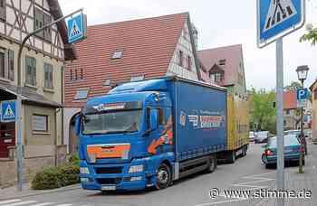 Tempo 30 für Lkw in Schwaigern? Keine besondere Gefahrenlage - STIMME.de - Heilbronner Stimme