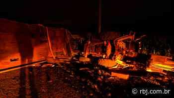 Acidente registrado na serra do São Brás em Coronel Vivida - RBJ