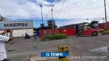 Con escolta militar buscan reactivar el puerto de Buenaventura - El Tiempo