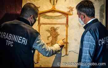 6 afrescos roubados em Pompeia entre 1970 e 2012 são recuperados - Revista Galileu
