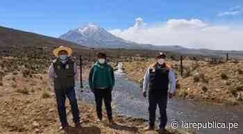 Arequipa: caída de cenizas del volcán Sabancaya afecta a distrito de Lluta - LaRepública.pe