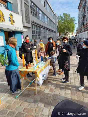 A Alfortville, les parents d'élèves manifestent en terrasse pour demander des remplaçants - 94 Citoyens