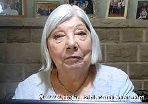 Fallece en Coronel Dorrego Alicia Jordán, integrante de la directiva de la Asociación Española desde el año 2001 - Cronicas de la Emigracion