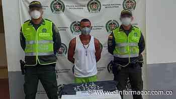 Capturado con droga en Pivijay - El Informador - Santa Marta