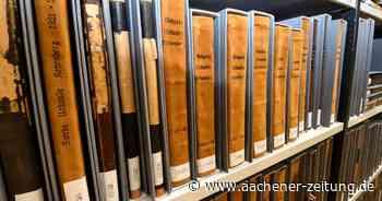 Stadtarchiv für Erkelenz: Das Gedächtnis der Stadt auf 1,8 Kilometern - Aachener Zeitung