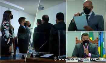 Após morte de vereador, Câmara de Cantagalo elege presidente e suplente toma posse - Serra News