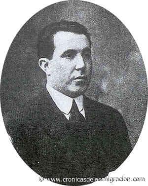 Antón García Zapata, que desarrolló su carrera como poeta en la emigración, se incorporó al Álbum de Galicia - Cronicas de la Emigracion