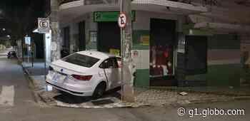 Motorista com suspeita de embriaguez provoca acidente no Barreiro, em Belo Horizonte - G1