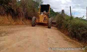 Comunidade de Bom Jardim recebe melhorias em 35 km de estradas - Jornal Pérola Capixaba