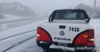 Por la nevada, sigue cortado el camino a las Altas Cumbres - La Voz del Interior