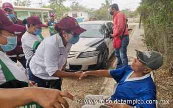 Valeria Nieto sigue recorriendo los sectores de Pueblo Viejo - El Sol de Tampico
