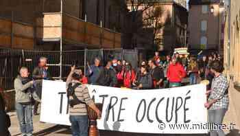 Mende : au théâtre, l'occupation s'allège mais l'unisson reste le credo du cortège - Midi Libre