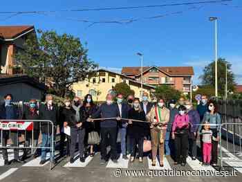 CIRIE' - Lavori finiti, inaugurato il nuovo tratto di via Borsellino - QC QuotidianoCanavese