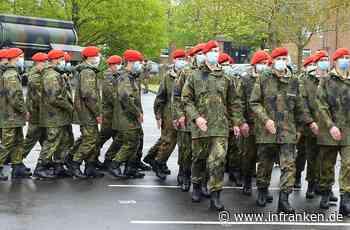 70 Soldaten beim feierlichen Gelöbnis in Volkach - inFranken.de