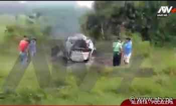 Pucallpa: Chofer pierde la vida tras explotar vehículo - ATV.pe