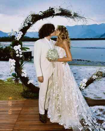 Sasha e João Figueiredo celebram casamento em Angra dos Reis: 'Felizes para sempre' - gshow