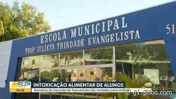 Prefeitura de Taquarituba encerra contrato com empresa de merenda após intoxicação de alunos - G1