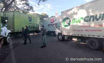 Flexibilizan bloqueo en Boquerón, entre Gigante y Garzón - Diario del Huila