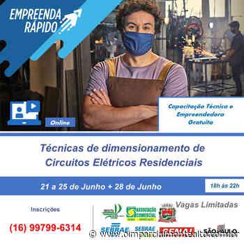 SEBRAE Monte Alto oferece curso sobre circuitos elétricos residenciais – Jornal O Imparcial - O Imparcial – Monte Alto