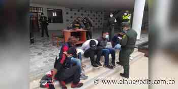 ¡ATENCIÓN! Ocho manifestantes fueron capturados por la policía en Boquerón y serán judicializados ante la Fiscalía - El Nuevo Dia (Colombia)