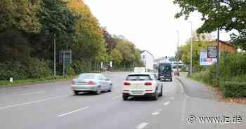 Großbaustelle: Kreuzung zur Lockhauser Straße ist gesperrt - Lippische Landes-Zeitung
