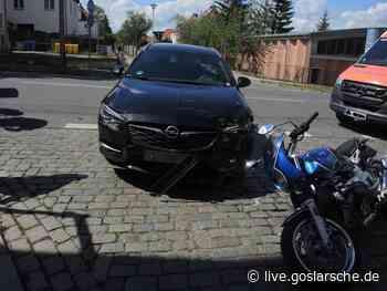 Motorradfahrer bei Unfall schwer verletzt   GZ Live - GZ Live