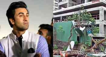 TONTON: Rumah Ranbir Kapoor yang sedang dibangun di Mumbai memiliki pemandangan yang suram saat Topan Taukta mendatangkan malapetaka - Manadopedia