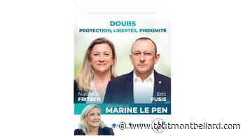 Elections Départementales 2021 : Canton d'Audincourt, Nathalie Fritsch et Eric Fusis candidats - ToutMontbeliard.com