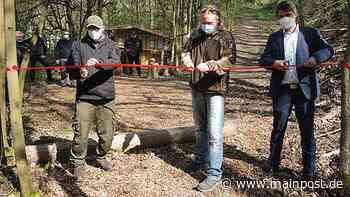 Mellrichstadt Mellrichstadt hat jetzt einen Jagdbogenparcours - Main-Post