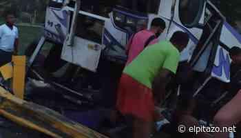 Charallave | Vuelco de unidad de transporte público deja 15 lesionados - El Pitazo