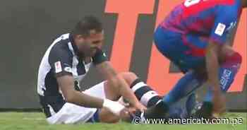 Alianza Lima vs. Alianza Universidad: Míguez también se lesionó y dejó el partido - América Televisión