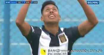 Alianza Lima vs. Alianza Universidad: Renato Rojas colocó el 1-0 para los íntimos - América Televisión