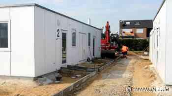 Flüchtlingsunterkunft: Stadt Voerde erwägt längere Nutzung - NRZ