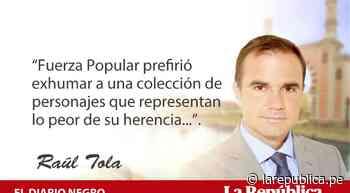 A dos semanas, por Raúl Tola - LaRepública.pe