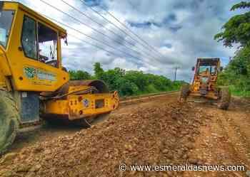 Vía Las Peñas – La Tola mejora gracias a trabajos efectuados por la Prefectura de Esmeraldas - Esmeraldas News