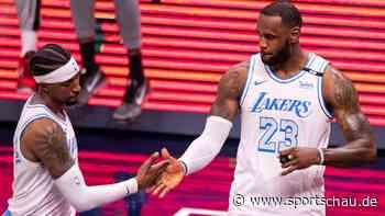 Lakers siegen bei Comeback von LeBron James - sportschau.de